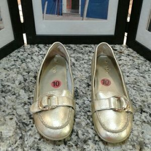 Gold Metallic Shoes